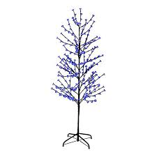 shop christmas central 6 ft pre lit twig artificial christmas tree