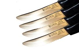 cutco kitchen knives set of 4 cutco pearl table knives 1759 ss pics made in usa steak