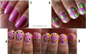 easter nail art u2013 step by step tutorial u2013 dendiva
