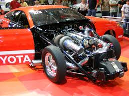 toyota drag car toyota camry drag car view of engine in a toyota camry dra flickr