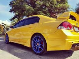 honda civic fd type r civic fd type r yellow at for sale