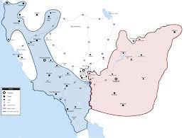 New Vegas Map West Coast Map 2281 Falloutlore