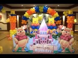Balloon Decor Ideas Birthdays Balloon Decoration Ideas For Birthdays Youtube