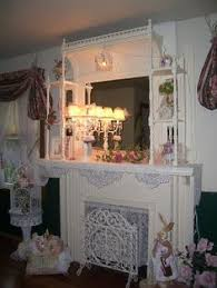 Shabby Chic Fireplace Mantels by Mantel Of The Month Enchanted Treasures Shabby Chic Romantic