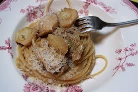 cuisiner l oseille spaghetti aux artichauts et à l oseille cuisine et dépendances