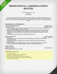 skill resume 5 laborer resume skills section uxhandy com