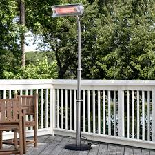 Hiland Patio Heater Instructions by Az Patio Heater Stainless Steel Glass Tube Tabletop Heater Hayneedle