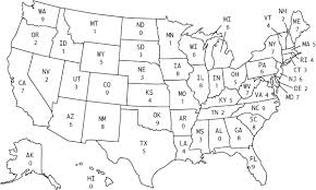 map usa states abbreviations us map with states abbreviated