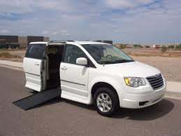 2009 chrysler town u0026 country touring wheelchair handicap mobility