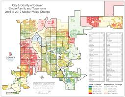 Las Vegas Neighborhood Map by Maps Property Valuations Around Metro Denver Are Spiking Find