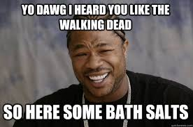 Bath Salts Meme - xzibit meme memes quickmeme