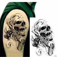 skull roses sleeve designs binge thinking