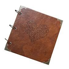 handmade leather photo albums xdobo retro high quality photo album wedding diy