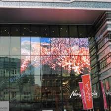Curtain Led Display China P8 Outdoor High Brightness Glass Transparent Led Display