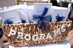 basket for wedding programs decorated basket to hold wedding programs s wedding