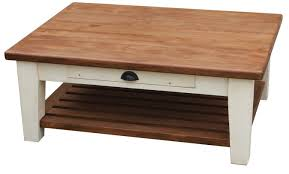 Country Coffee Table Custom Tapered Leg Country Coffee Table By Mortise Tenon Custom