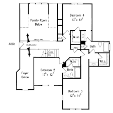 traditional style house plan 5 beds 4 50 baths 3482 sq ft plan