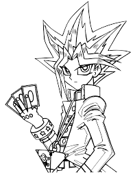yu gi oh coloring pages printable images kids aim