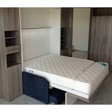 canapé lit armoire matelas eulastic h 16 18cm hr 43kg m3 pour lit escamotable