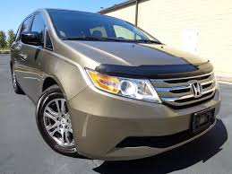2011 used honda odyssey ex l at platinum used cars serving