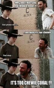 Carl Rick Meme - 296 best twd carl rick memes images on pinterest funny stuff