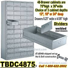 Parts Cabinets 48 Drawer Industrial Parts Cabinets Tbdc4875