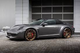 porsche car 911 porsche 911 carrera 4s shows off topcar u0027s stinger body kit