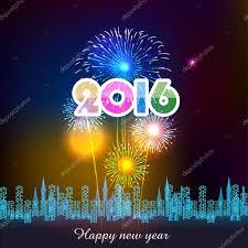 imagenes feliz año nuevo 2016 feliz año nuevo 2016 con fuegos artificiales archivo imágenes