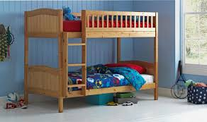 Wooden Bunk Bed Kids Childrens Caramel Ft Rosa With Or Without - Pine bunk bed