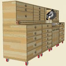 Table Saw Cabinet Plans Jackman Modular Miter Saw Station Plan Jackman Works