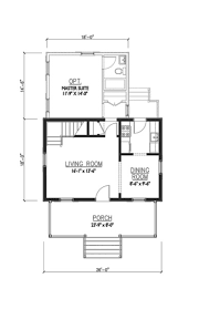 cottage style house plan 2 beds 1 00 baths 936 sq ft plan 514 13