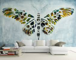 personalized custom wall murals 3d butterfly painting wallpaper