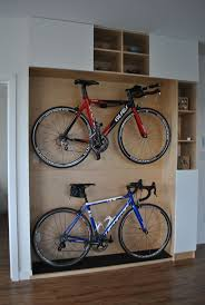 best bike storage apartment ideas pinterest wall excellent wooden platform design for home bikes storage ideas combined with cubby holes accessories
