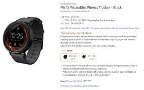 android wear price update not shipping until december misfit s unreleased vapor