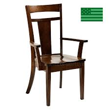 Made Dining Chairs Dining Chairs Made In The Usa American Eco Furniture