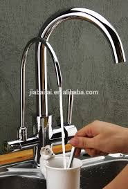 two way kitchen sink brass tap kitchen faucet with instant water