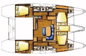 Catamaran Floor Plans Azzurra The Catamaran Company