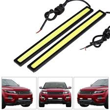 cob led light bar ordercar styling 1pcs 17cm 20w cob led lights drl daytime running
