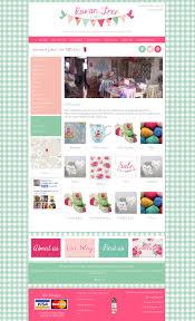 rowan tree crafts in pink website design ulverston cumbria