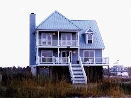 Beach House On Stilts Beach House Plans U0026 Coastal Home Plans The House Plan Shop