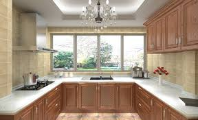 Solid Kitchen Cabinets Beauty 3d European Style Kitchen Cabinets Solid Wood Kitchen