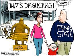 Penn State Memes - bok cartoon penn state scandal the idea log