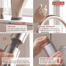 delta faucet 980t rbsd dst pilar venetian bronze pullout spray
