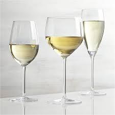 Wine Glasses Vineyard White Wine Glasses Crate And Barrel