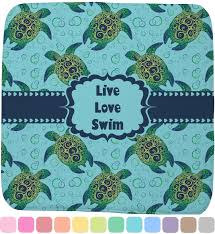 Sea Turtle Bathroom Accessories Sea Turtles Memory Foam Bath Mat Personalized Potty Training