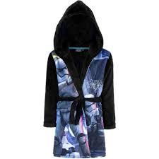 robe de chambre capuche peignoir polaire wars 10 ans robe de chambre capuche noir
