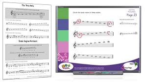 interactive music theory with worksheets youtube
