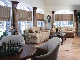interior grey modern striped horizontal folding curtain and lage
