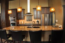 kitchen island with sink dimensions stone tile backsplash teak