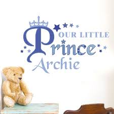 our little prince wall art personalised our little prince wall art